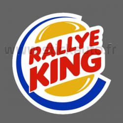 Autocollant Rallye King