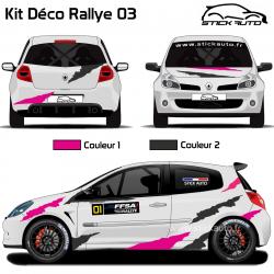 Kit Déco Rallye 03