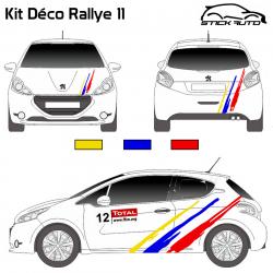 Kit Déco Rallye 11