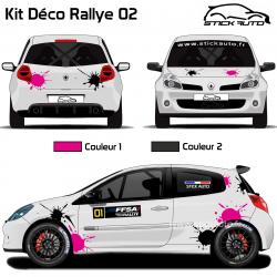 Kit Déco Rallye 02