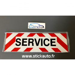 Bandeau adhésif SERVICE pour véhicule