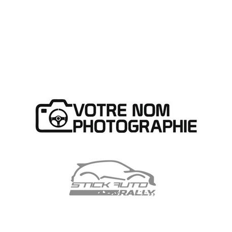Kit 20 stickers pour photographe personnalisable