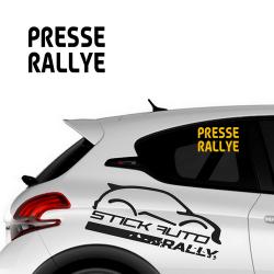 Sticker Presse Rallye