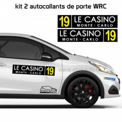 Kit 2 panneaux de porte FIA WRC.
