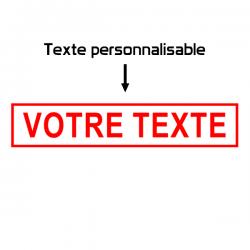 Texte encadré personnalisablé