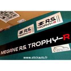 Bandeau pare soleil Mégane RS Trophy R