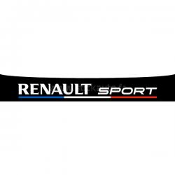 Bandeau Pare soleil Renault Sport Bleu BLanc Rouge