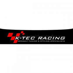 Bandeau Pare soleil Renault K-TEC Racing