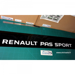 Bandeau Pare soleil Renault Pas Sport