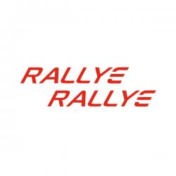Kit 2 stickers RALLYE