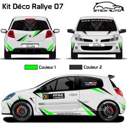 Kit Déco Rallye 07