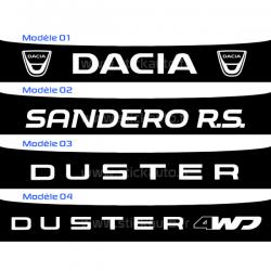 Bandeau Pare soleil Dacia, Sandero RS et Duster