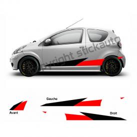 Kit Stickers Toyota Aygo GR