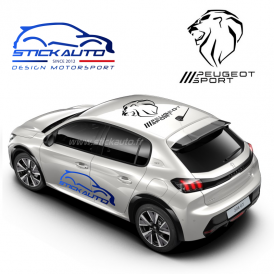 Peugeot Sport Lion de toit 80cm