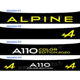 Bandeau Pare soleil Alpine A110S