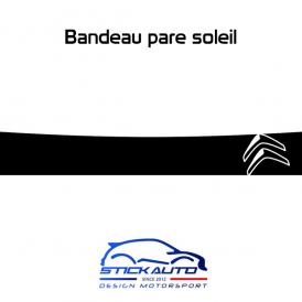 Bandeau Pare soleil Chevron Citroën