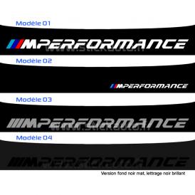 Bandeau Pare soleil BMW M Performance