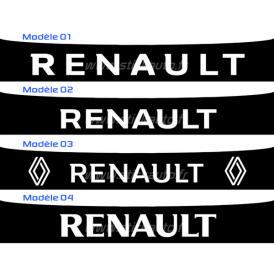 Bandeau Pare soleil Renault RS Line GT line