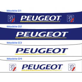 Bandeau Pare soleil Peugeot Rallye 1990