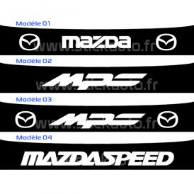 Bandeau Pare soleil Mazda et Mazda MPS