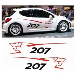 Kit Peugeot 207 Rcup