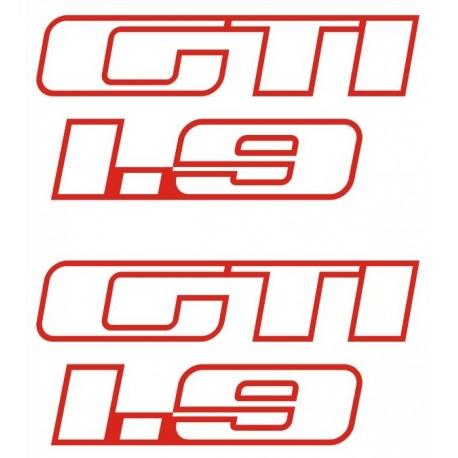 Kit Stickers de custodes 205 GTi 1.9