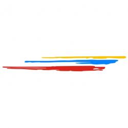 Griffe Peugeot Sport Droit 3 couleurs