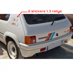 Kit Stickers de custodes 205 Rallye 1.3