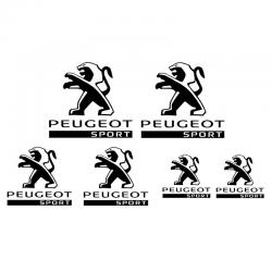 Kit Peugeot Sport 6 Stickers