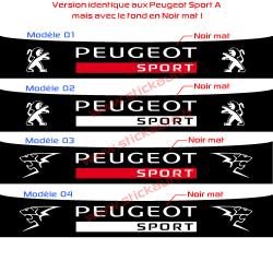 Bandeau Pare soleil Peugeot Sport G