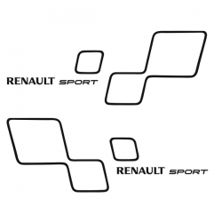 Kit Renault Sport Strippings Trophy