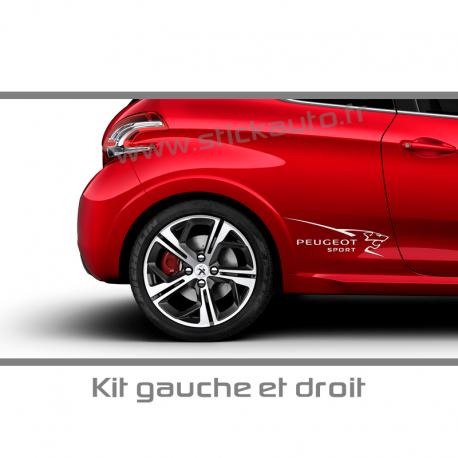Kit Stickers Peugeot Sport A2
