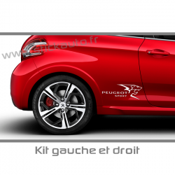 Kit Stickers Peugeot Sport A3