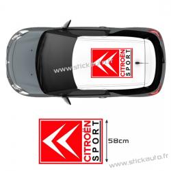 Citroen Sport de toit 58x78cm