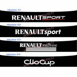 Bandeau Pare soleil Renault Sport D