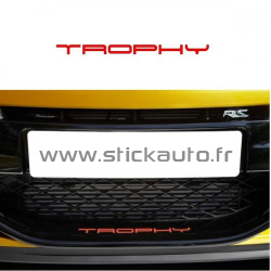 Renault Sticker Trophy de  lame