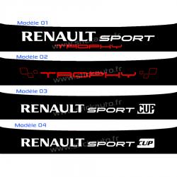 Bandeau Pare soleil Renault Sport J