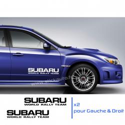 Kit 2 Stickers Subaru 60cm