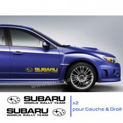 Kit 2 Stickers Subaru WRT 60cm