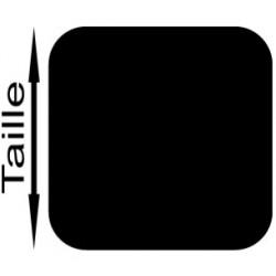 Fond de numéro carré