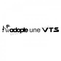 Sticker Adopte une VTS