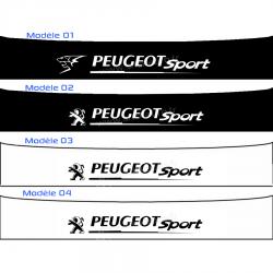 Bandeau Pare soleil Peugeot Sport J