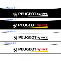 Bandeau Pare soleil Peugeot Sport K