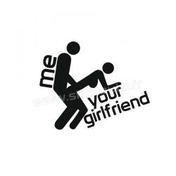 Sticker me your girlfriend