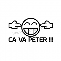 Stickers Ca va peter !!!