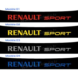 Bandeau Pare soleil Renault Sport K