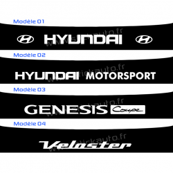 Bandeau Pare soleil Hyundai A