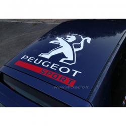 Peugeot Sport de Toit 2012 75x75 cms Blanc