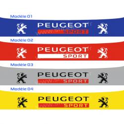 Bandeau Pare soleil Peugeot Sport L