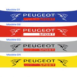 Bandeau Pare soleil Peugeot Sport M